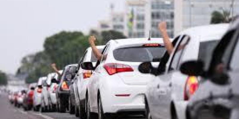 Motoristas por aplicativo pararam no Ceará, Sergipe e Pernambuco