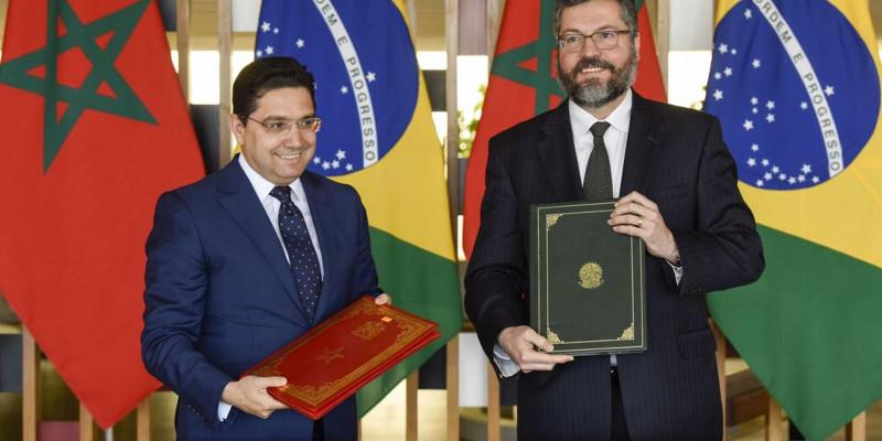Brasil e Marrocos firmam acordos para incentivar investimentos