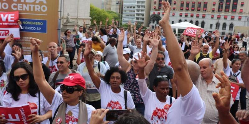 39% de reajuste para servidores da Prefeitura SP