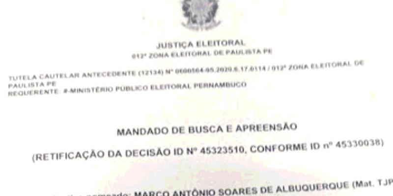 Eleições em suspeição em Paulista