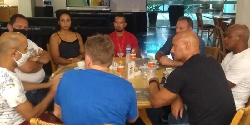 Líderes da OTB na área de esportes se reúnem no Rio de Janeiro