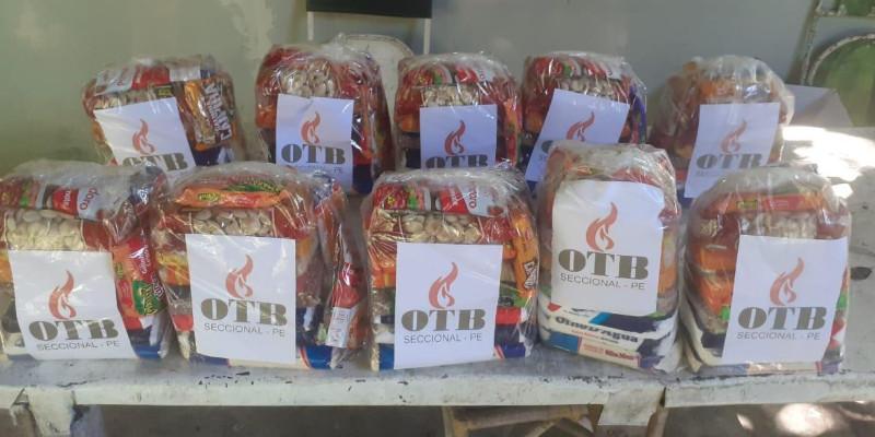 OTB Pernambuco distribui alimentos no interior do estado