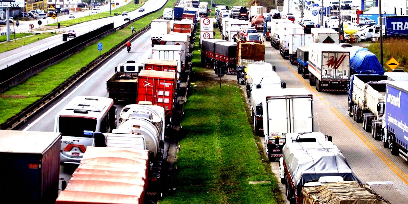 Nova greve dos caminhoneiros