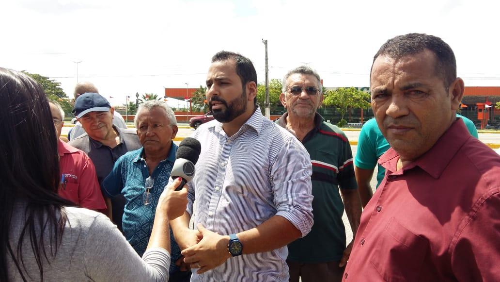 OTB participa de manifestação de motoristas no CE