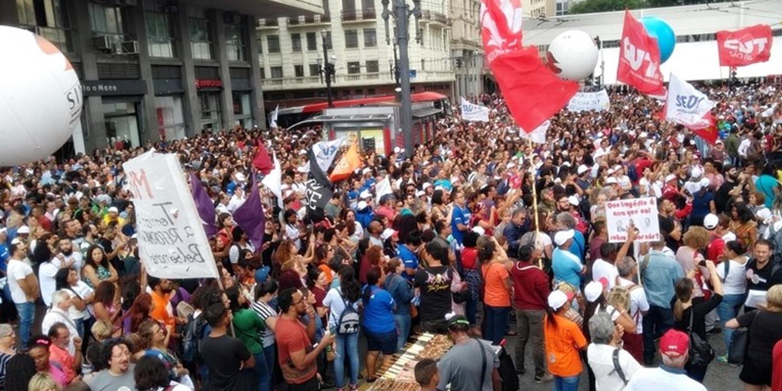 Deflagrada greve geral em São Paulo