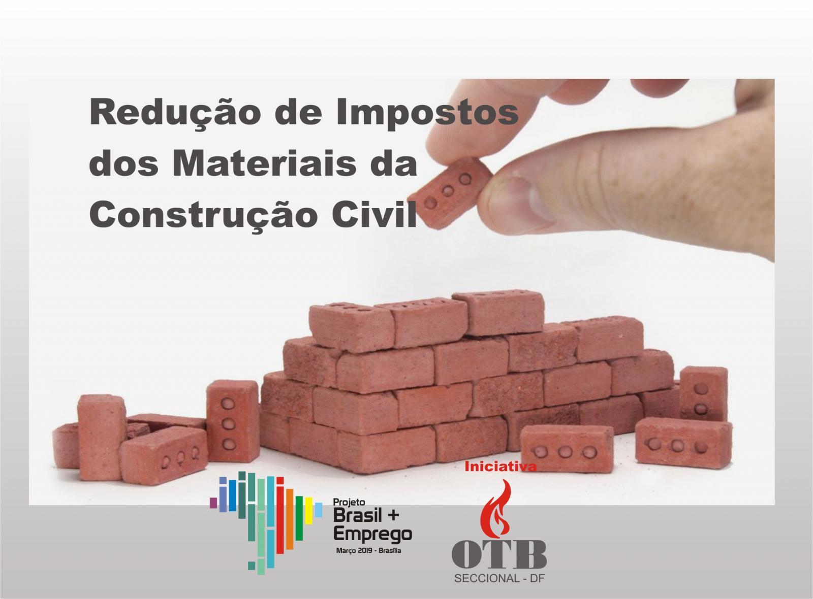 Marcos Pereira, presidente da OTB DF propõe redução de impostos