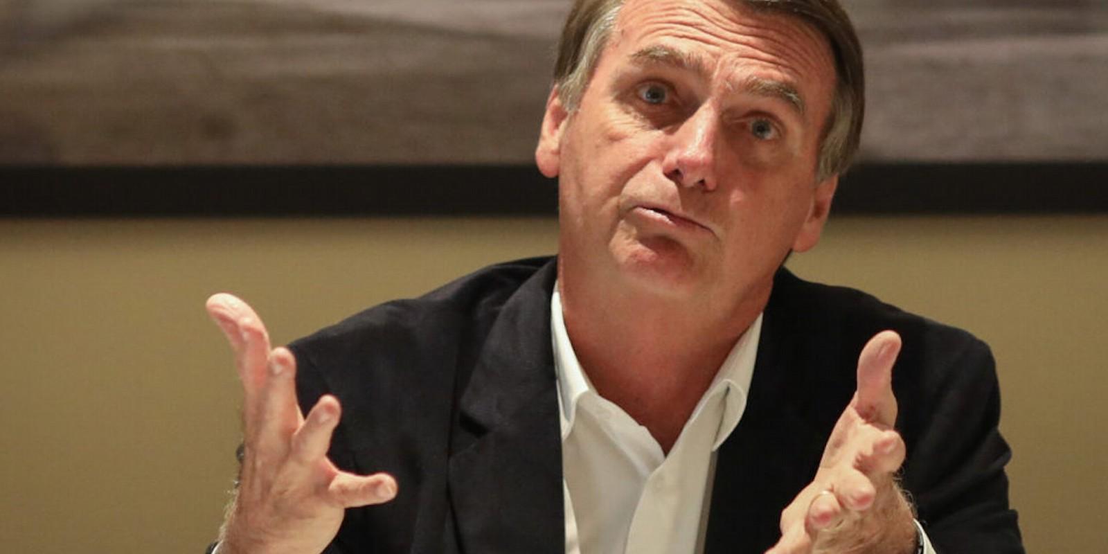 Bolsonaro critica critérios de medição do desemprego pelo IBGE