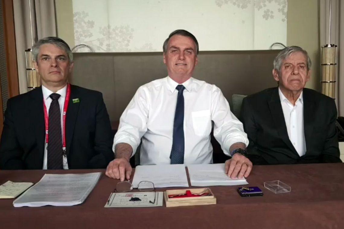 Bolsonaro lamenta fim da validade de MP que veda desconto sindical