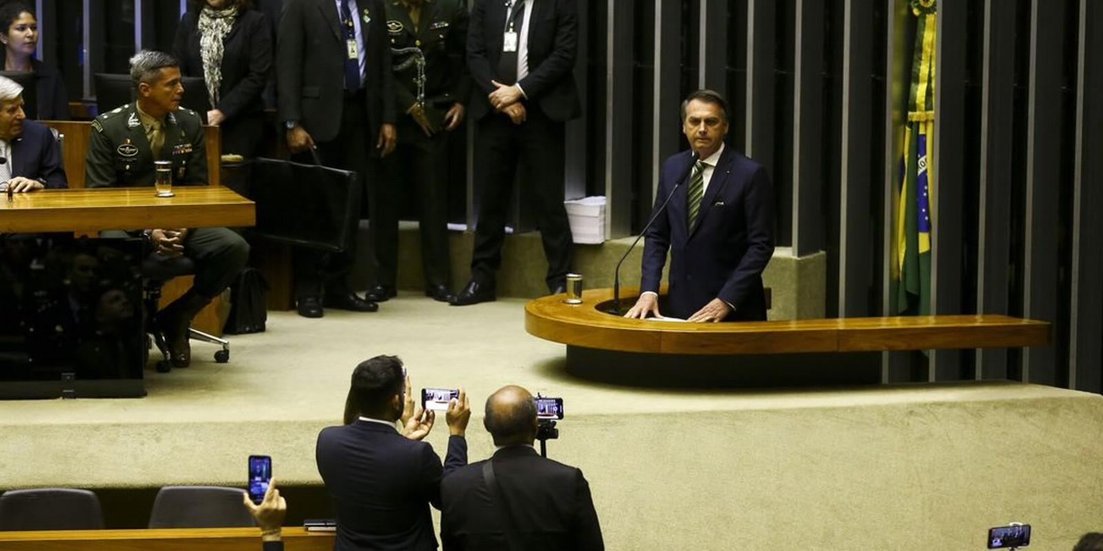 Brasil precisa de quimioterapia, diz Bolsonaro