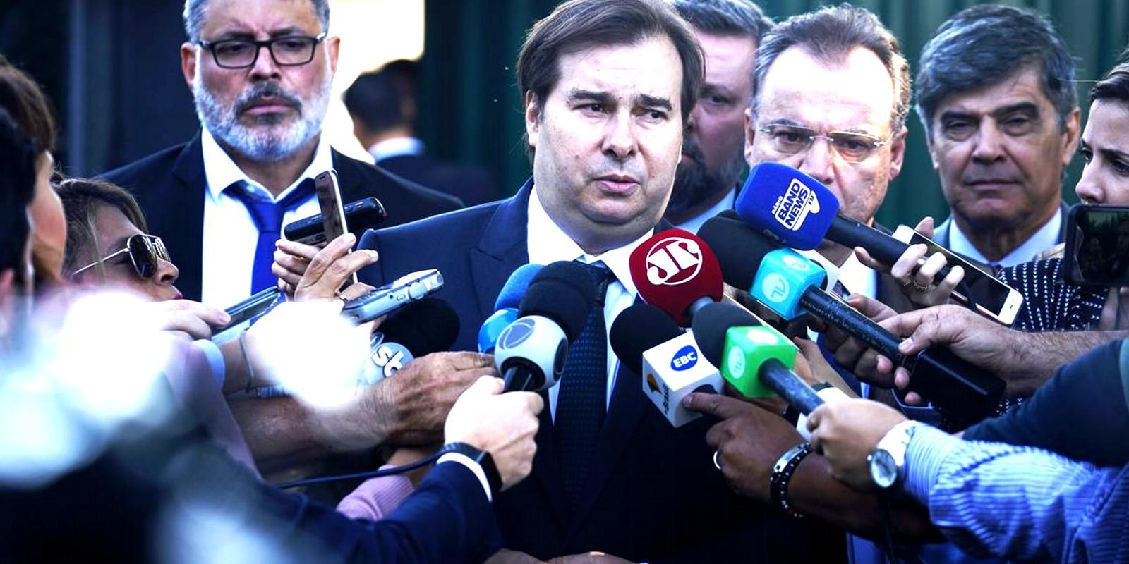Maia reunirá parlamentares no sábado para discutir Previdência