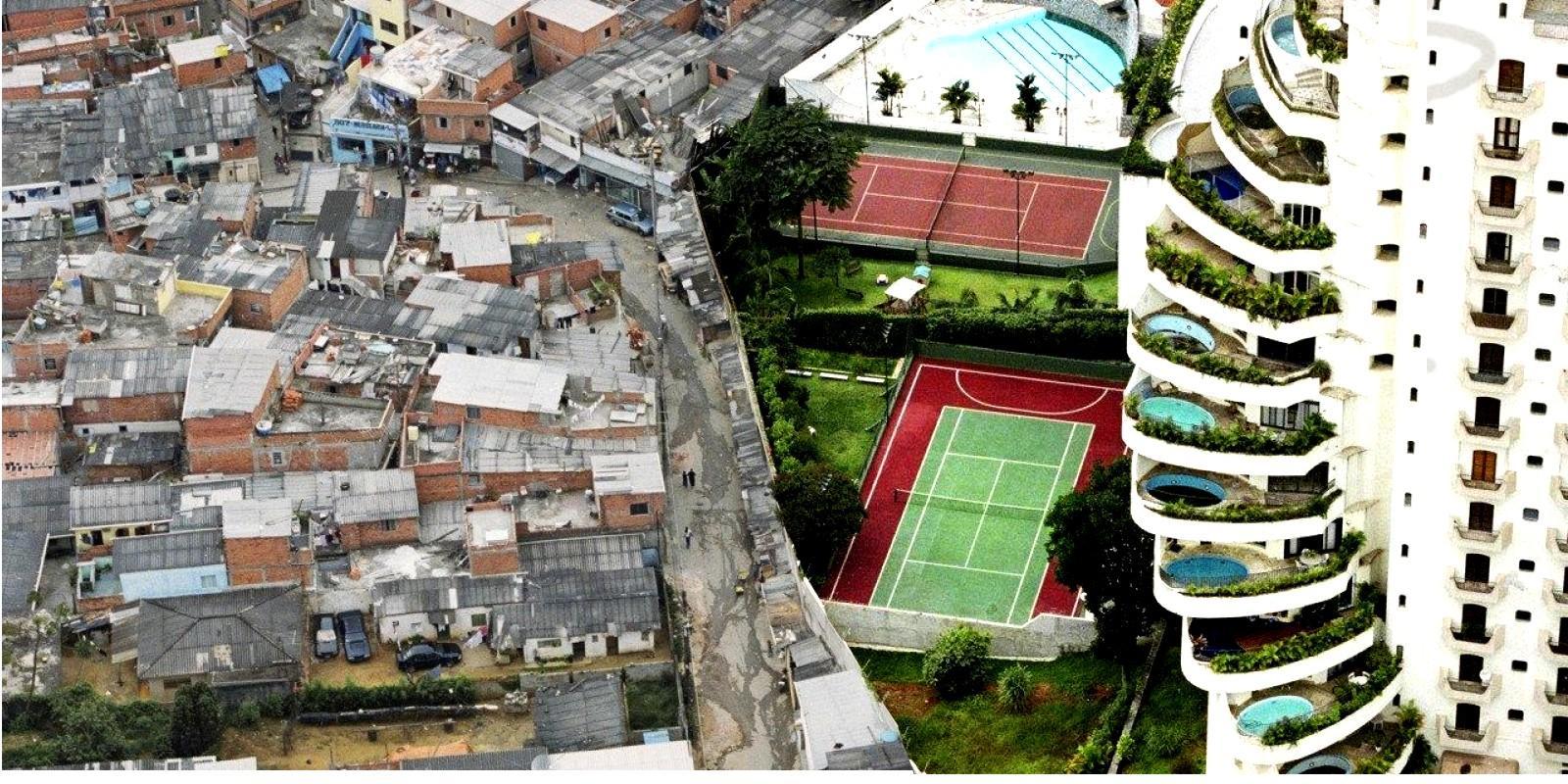 Brasil é líder em concentração de renda