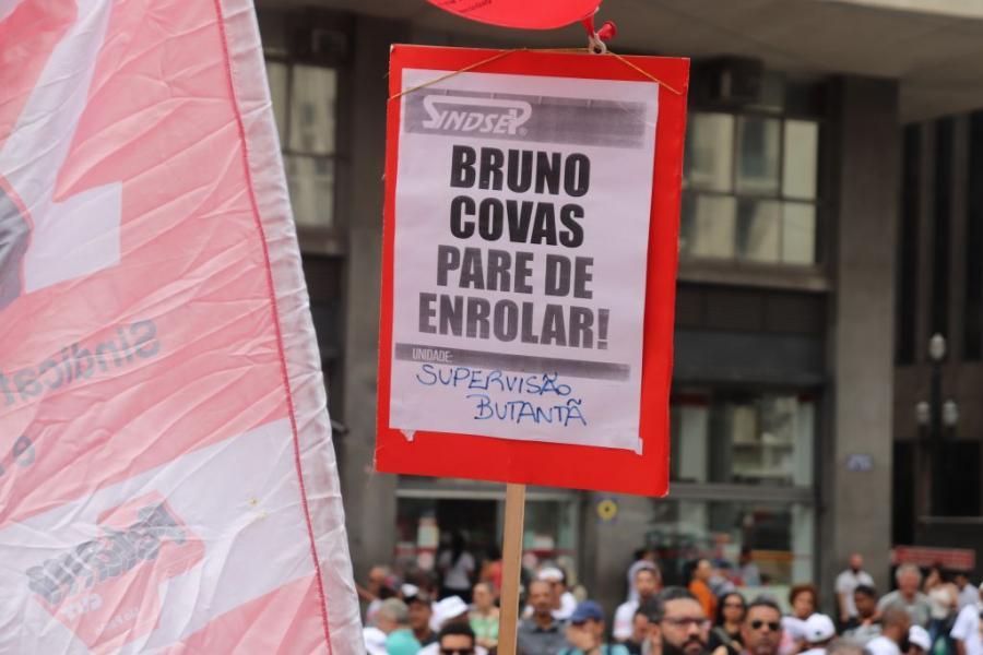Bruno Covas despreza voto de servidores