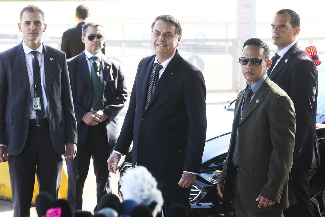 Para Bolsonaro, Justiça não deve validar mensagens obtidas ilegalmente