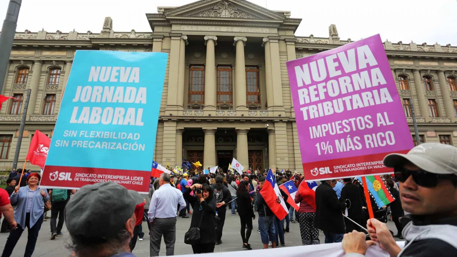 Aprovado corte de salário dos parlamentares no Chile