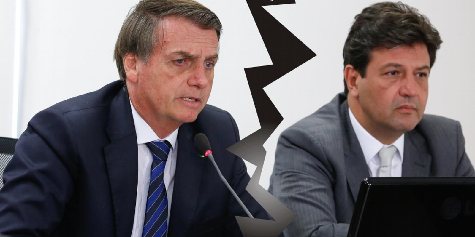 Bolsonaro vai demitir Mandetta
